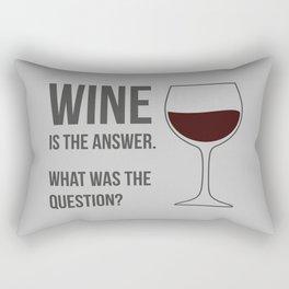 The Best Answer Rectangular Pillow