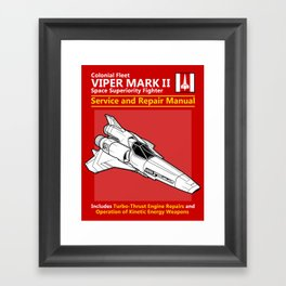 Viper Mark II Service and Repair Manual Framed Art Print