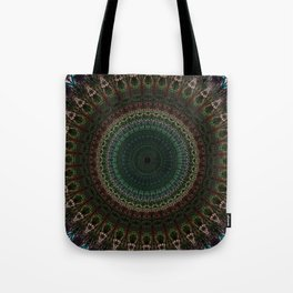 Detailed mandala with spikes Tote Bag