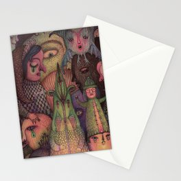 Let The Masquerade Begin! Stationery Cards