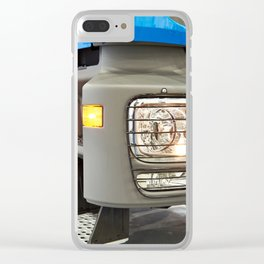 Modern large truck Clear iPhone Case