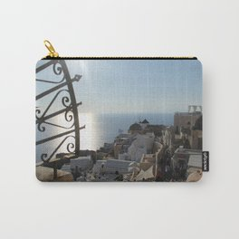 The Village of Oia Carry-All Pouch