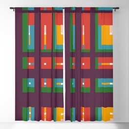 Geometric Shape 06 Blackout Curtain