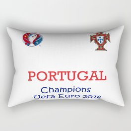 Champion Uefa Euro 2016 Portugal Rectangular Pillow