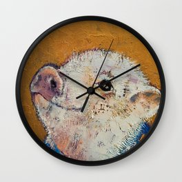 Little Piggy Wall Clock