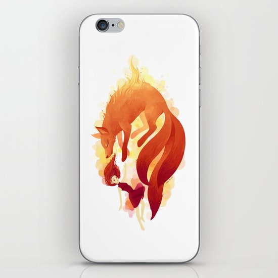 Fire Fox iPhone & iPod Skin