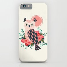 Owl and Blossoms Slim Case iPhone 6s