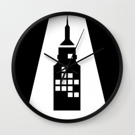 Artcotechsure: The A (black) Wall Clock