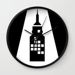 Artcotechsure: The A (black) Wall Clock