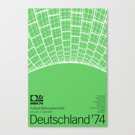 World Cup: West Germany 1974 Canvas Print