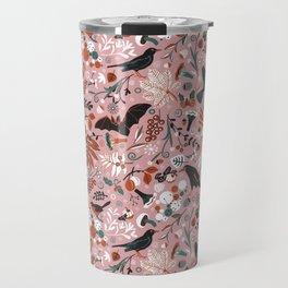October birds Travel Mug
