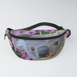 Koala and Orchids Fanny Pack