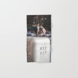 NYC Pigeon Hand & Bath Towel