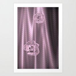 Pink Sheer Art Print