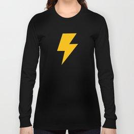 Cartoon Lightning Bolt pattern Long Sleeve T-shirt