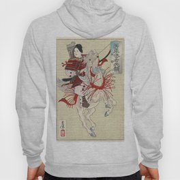 The Female Warrior Hangaku by Yoshitoshi, 1885 Hoody