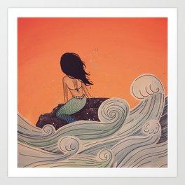 High Tide - MaddyAbbs Art Art Print