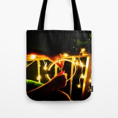 Light Wheel Tote Bag