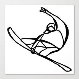 Surf : Snow VIII Canvas Print