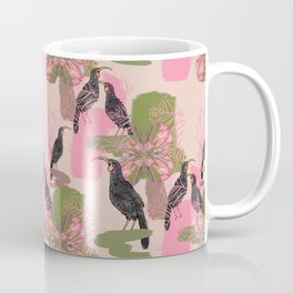 Huias and Proteas Coffee Mug