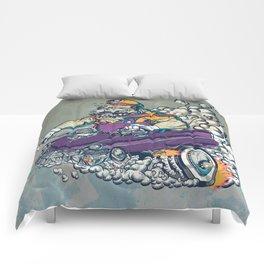 Wario Fink Comforters