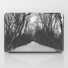 paths traveled iPad Case