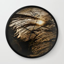 the best arrives in the evening Wall Clock