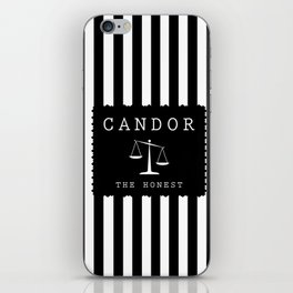CANDOR - DIVERGENT iPhone Skin