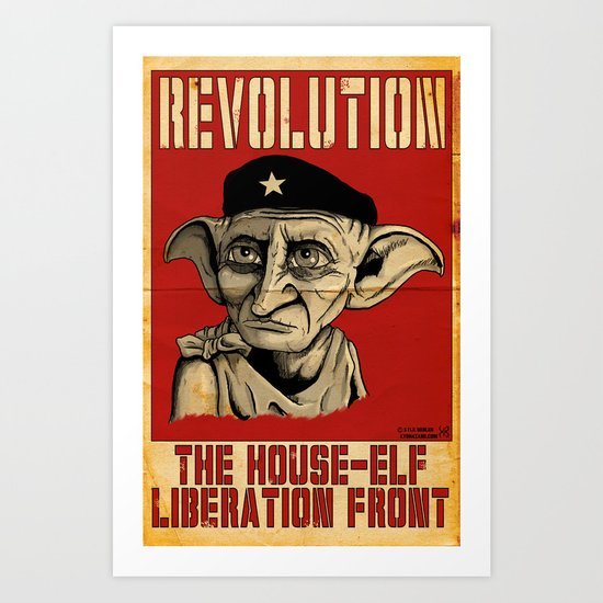 House Elf Liberation Front Art Print