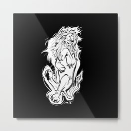 Lion Day late special Metal Print