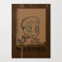 danny haas Canvas Prints featuring Danny by LittlestLarper