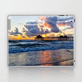 Sunset HB Pier  (10-28-13) Laptop & iPad Skin