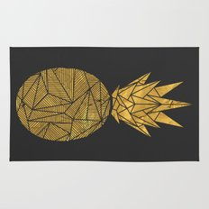 Bullion Rays Pineapple Rug