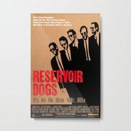 1992 Reservoir Dogs - Movie Film Poster Print Metal Print