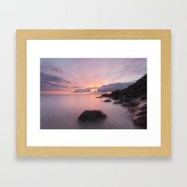 Ladye Bay Framed Art Print