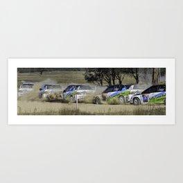 Nathan Quinn - The dust storm Art Print