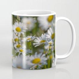 Daisies meadow in the summer Coffee Mug