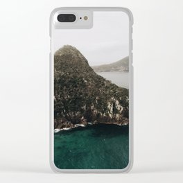 Mount Tomaree Clear iPhone Case
