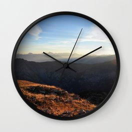 Happiness Happening Wall Clock