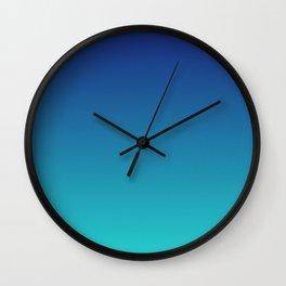 Aqua Marine Wall Clock