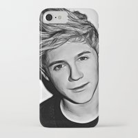 niall iPhone & iPod Cases featuring Niall Horan  by D77 The DigArtisT