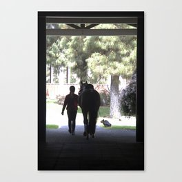 A day in the life Canvas Print