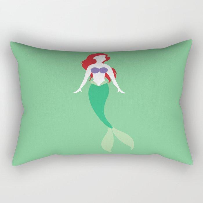 Ariel from The Little Mermaid Disney Princess Rectangular Pillow