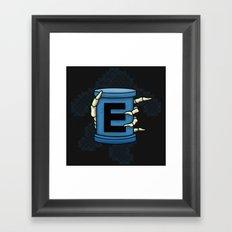 20XX ENERGY Framed Art Print