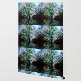 Van Goghs Aurora Borealis Reflection Wallpaper