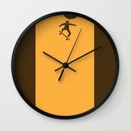 WTF? Skate! Wall Clock