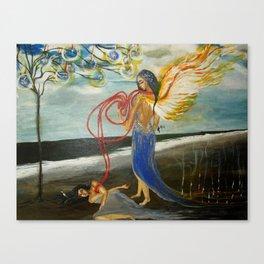 NODNABA Canvas Print