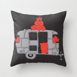 Bearstream... Throw Pillow