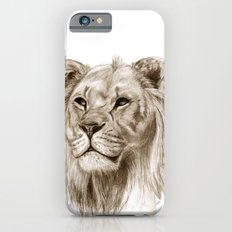 A Lion :: Without Pride Slim Case iPhone 6s