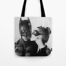 BAT AND CAT b&w Tote Bag